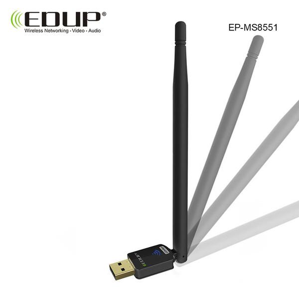 usb adattatore wireless wifi 802.11n 150mbps usb scheda di rete wireless wifi EP-MS8551 antenna ricevente wifi 6dbi