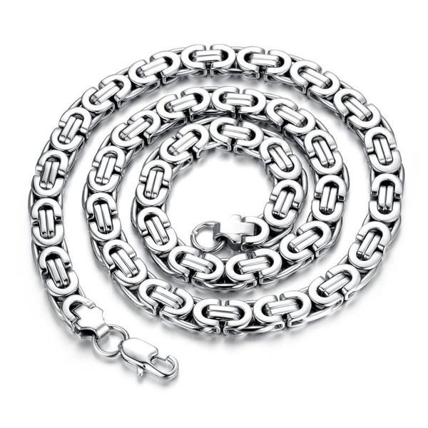 Accesorios de la joyería de los hombres coreanos cadena de cadena corta hilo de acero inoxidable de la clavícula