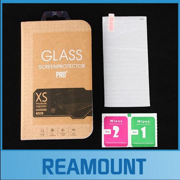 500 pcs Wholesale 0.3mm Tempered Glass Film for iPhone 7 5s 9H Screen Protector for iPhone 7 with Clean Tools