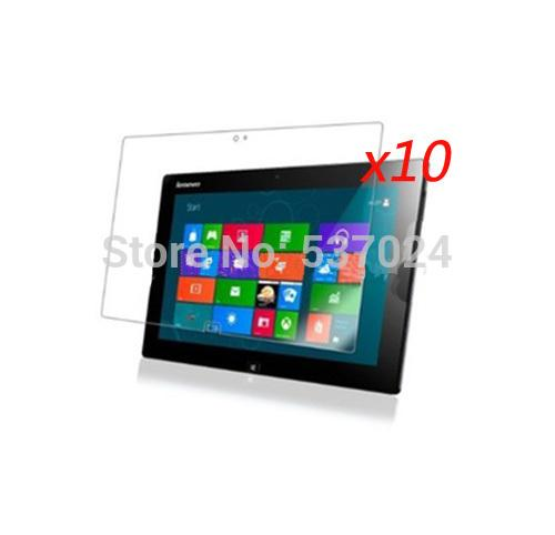 """Wholesale- 10pcs/lot LCD Screen Protector Films Clear Protective Film Guards For Lenovo Ideatab Idea pad Tab Lynx K3 K3011 11.6"""" Tablet PC"""