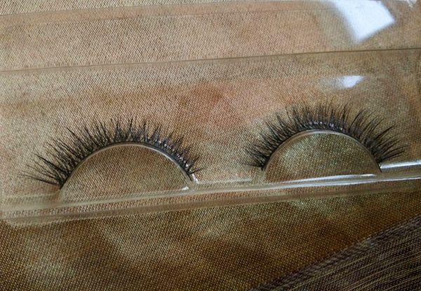 20Pairs/Lot Handmade False Eyelashes Mink Natural Realistic Messy End Eye Elongated Thick False Eyelashes False Eyelashes Mink Eyelash