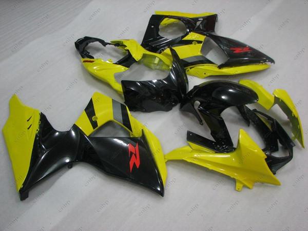 ABS Fairing GSXR1000 2011 Bodywork for Suzuki GSXR1000 2010 Yellow Black Fairing Kits GSXR 1000 11 12 2009 - 2014 K9