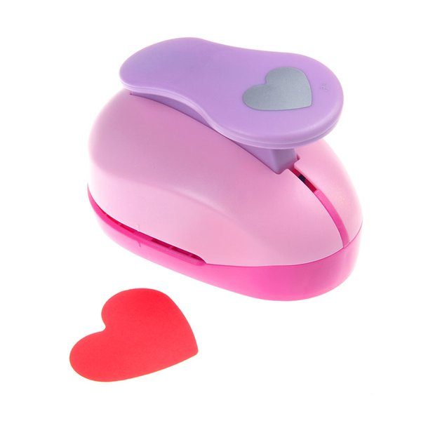 Wholesale- Super Large 3'' Heart Shaped Punch Furador De Papel Diy Craft Punch Eva Creative Embosser Card Making Scrapbooking K618