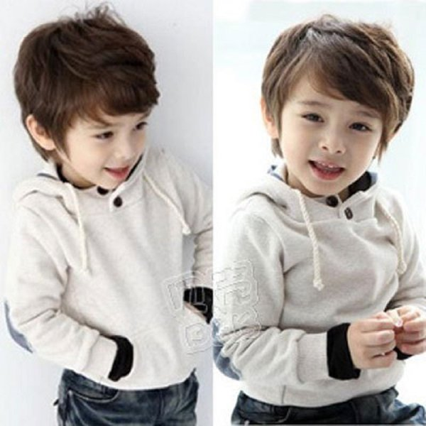 Wholesale- 2016 Autumn and Winter Boys Girls Clothing Baby Child Clothing with Hood Fleece Sweatshirt Cheap Warm Comfortable Outerwear