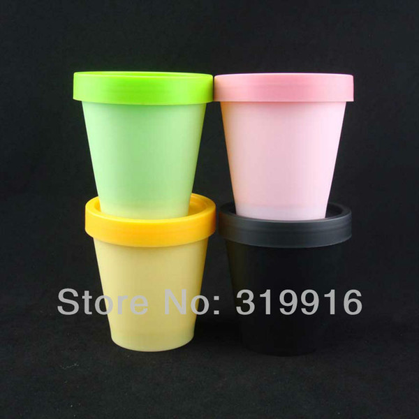 Free shipping 200g(12pc/lot) cylinder empty cream plastic container , PP bottles, round mask jar , wholesale