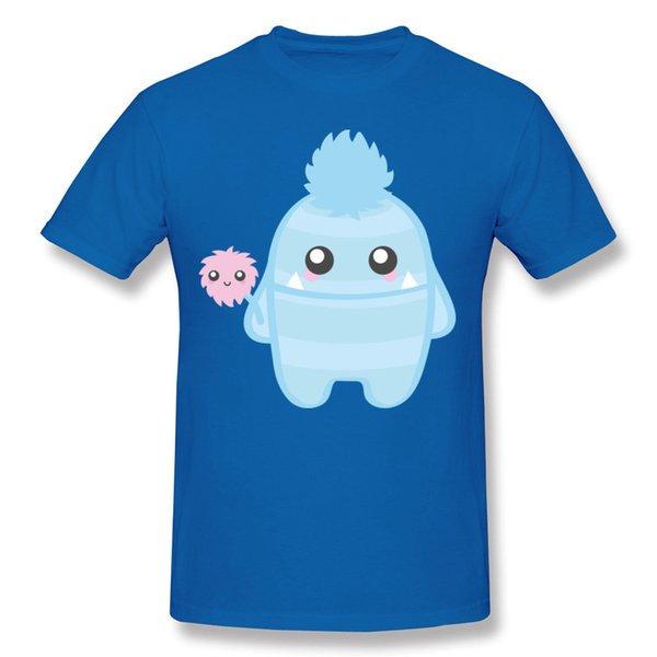 Mr. Blue man tshirts kawaii cartoon 3D printed mens short sleeved tees shirt cute style for daily life summer cool cotton tops