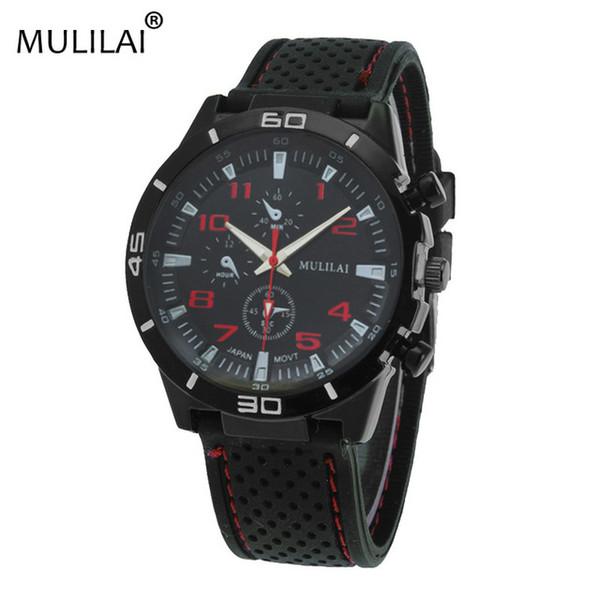 Mulila ho nuovo ORIGINAL moda F1 auto da corsa GT sport orologio da polso al quarzo di lusso uomo e cinturino in silicone orologio militare
