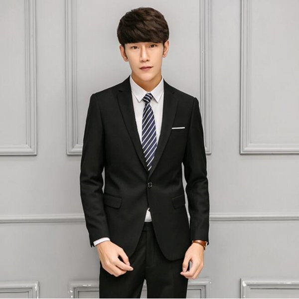 New arrival men suits slim fit groom suits tuxedos for men elegant wedding groomsman party suits for men(jacket+pants)