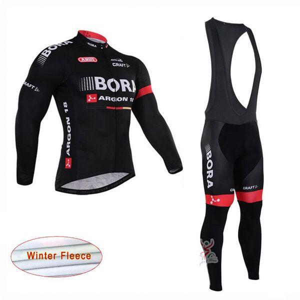 ropa ciclismo Bora Argon pro team Winter Cycling Jersey Long Sleeve Thermal  Fleece Bike Clothes (Bib) Pants Set Men s Cycling Clothing A0403 81c390680