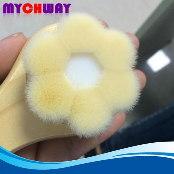 Promotion Home Use Super Soft Face Cleansing Fine Brush Flower Shape For Skin Deep Clean Blackhead Pore Wash