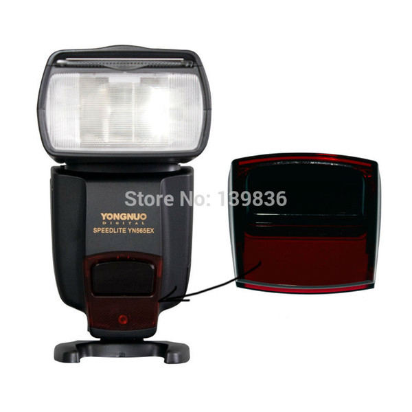 Wholesale-YONGNUO Flash speedlite repair original red plastic AF glass for YN560 II YN560 III YN560IV YN565ex YN565exII Yongnuo flashes
