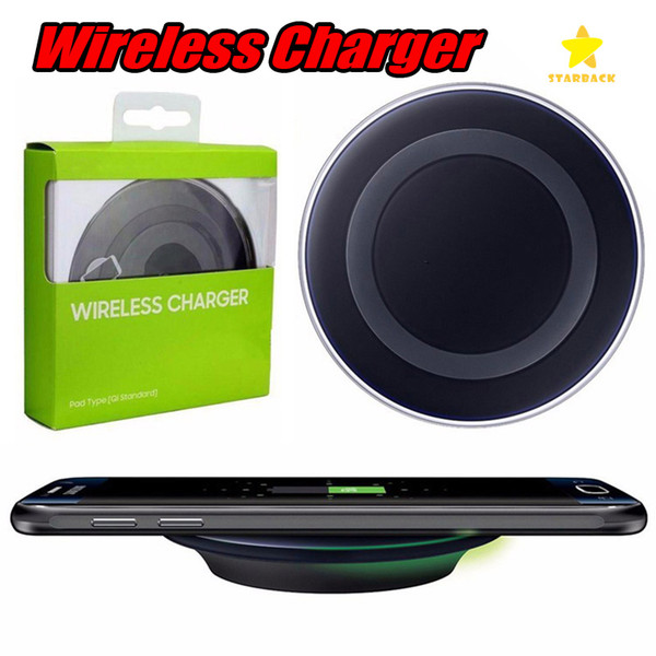 best selling Universal Wireless Charger Charger pad For Samsung Galaxy S6 Charging Pad QI Standard With Retail Box