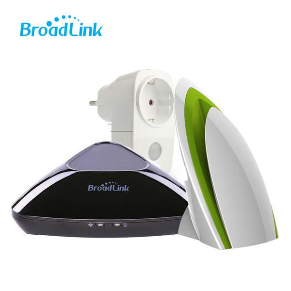 Al por mayor-Broadlink RM2, RM pro Broadlink A1 wifi purificador de aire inteligente, inteligente socket SP3 wifi enchufe, sistema inteligente de automatización del hogar