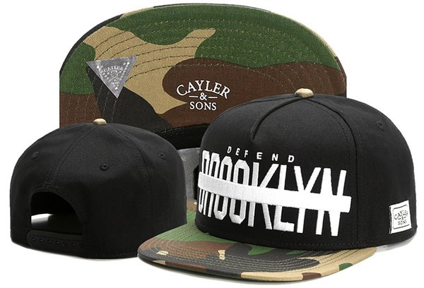 New Cayler & Sons BROOKLYN caps classic summer hat bboy hiphop Athletic & Outdoor snapback cap adjustable baseball hats