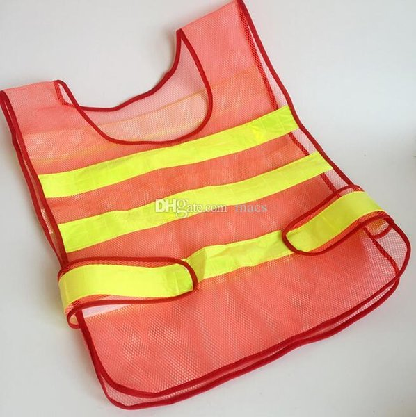 New design Visibility Reflective Safety Vest Coat Sanitation Vest Traffic Safety warning clothes vest Safety working waistcoat cloth