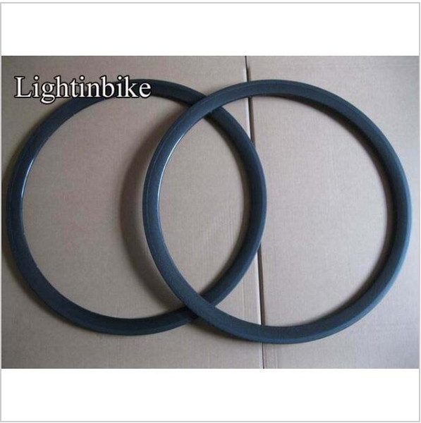only 680g 38mm tubular 700C full carbon road rims with V shape 20/24 holes from China factory Free Shipping