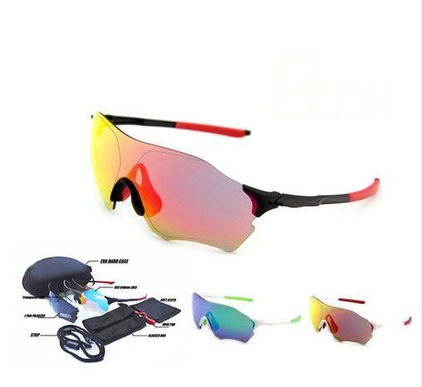 2017 Polarized sunglasses coating 3 lens EV gafas moto oculos de sol UV400 eyehield Road MTB bike ciclismo glasses