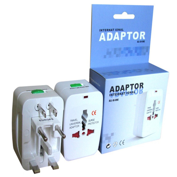 top popular All in One Universal International Plug Adapter World Travel AC Power Charger Adaptor with AU US UK EU converter Plug 2020