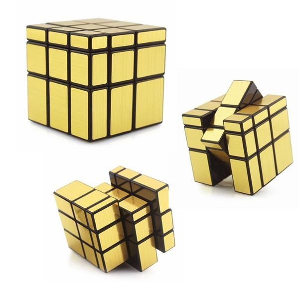 3x3x3 Spiegel Zauberwürfel Zappeln Spielzeug Professionelle Geschwindigkeit Cubo Magico Kinder Lernen Pädagogisches Puzzle Denkaufgabe Spiel