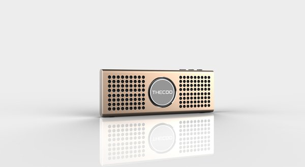 Thecoo World Thinnest 6w Portable Wireless Bluetooth Stereo Super ...