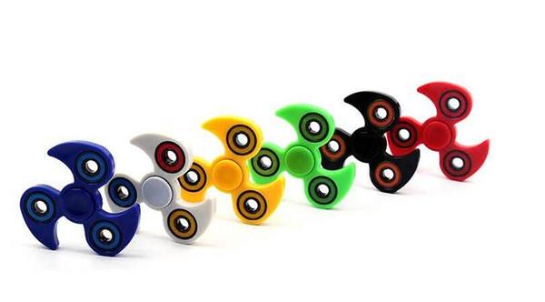 EDC Hand Spinner T Brass Fidget Toys windmill Fidget Spinner ADHD Fun Anti Stress toys for Kids children Puzzles