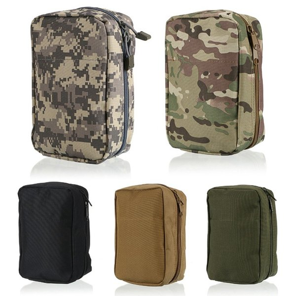 Molle Tactical Medical First Aid Pouch EDC Utility Pack Airsoft Wargame Paintball Hunting Sundries Accessories Bags
