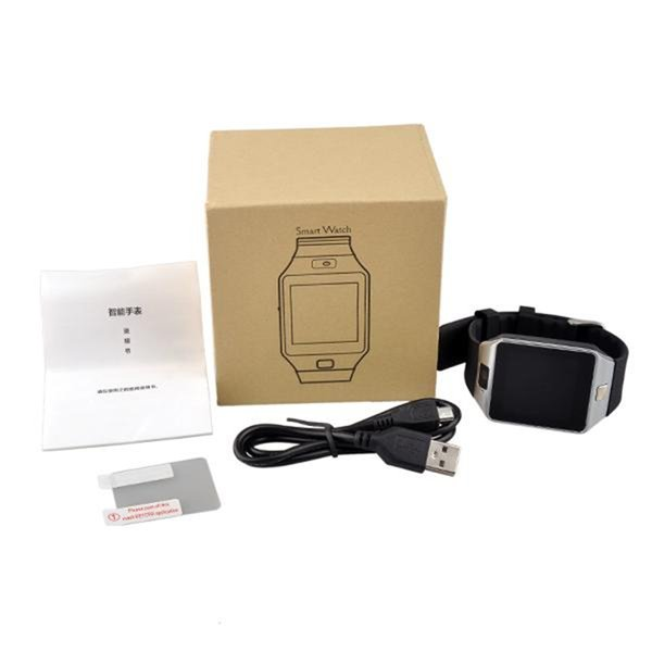 best selling DZ09 Smart Watch Bluetooth Anti-lost Wrist Watches For iPhone Android Samsung HTC Sony Nokia Wearable Smart Watches