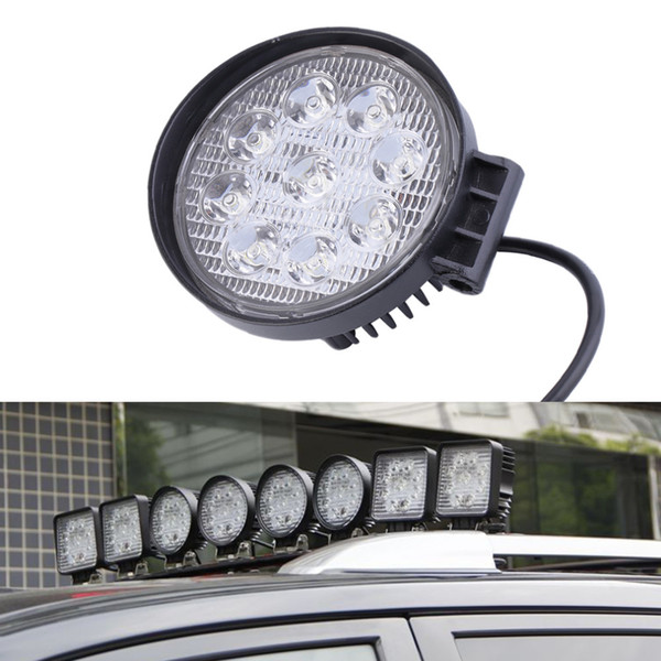 Lampada da lavoro a LED Spot da 27W 12V per camion fuoristrada SUV