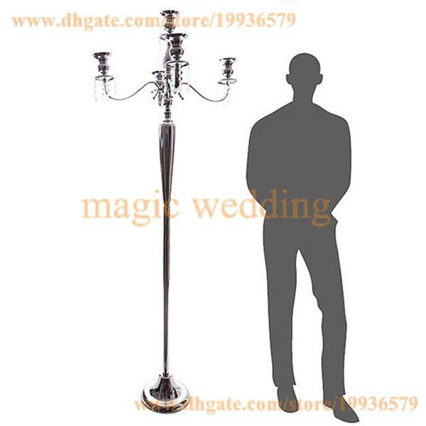 10 X silver 5 arm candelabrasil