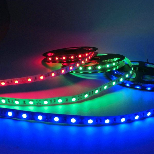Hot sale 5M 300Leds waterproof RGB Led Strip Light 5630 3528 5050 DC12V 60Leds M Fiexble Light Led Ribbon Tape Home Decoration Lamp