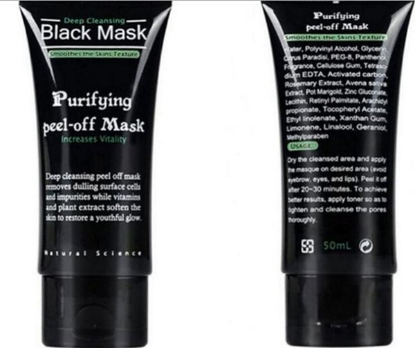 SHILLS Deep Cleansing Facial Masks 30 Pieces Black Mask Purifying Peel off Face Nose Black Head Pore Peels DHL