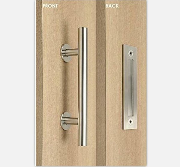 Stainless Steel Barn Door Handle Pull&Wooden sliding door handle knob