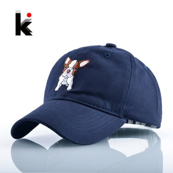 Wholesale- 2017 Fashion Casual Sun Hat Hockeys Casquette For Men Cute Dog Snapback Baseball Cap For Women Unisex Drake Gorra Bone Masculino