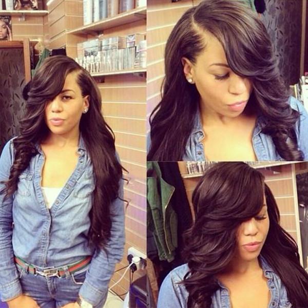 Pre Zupfseide Basis Volle Spitze Echthaar Perücken Für Schwarze Frauen Lose welle Brasilianisches Remy Haar Natürliche Farbe 8
