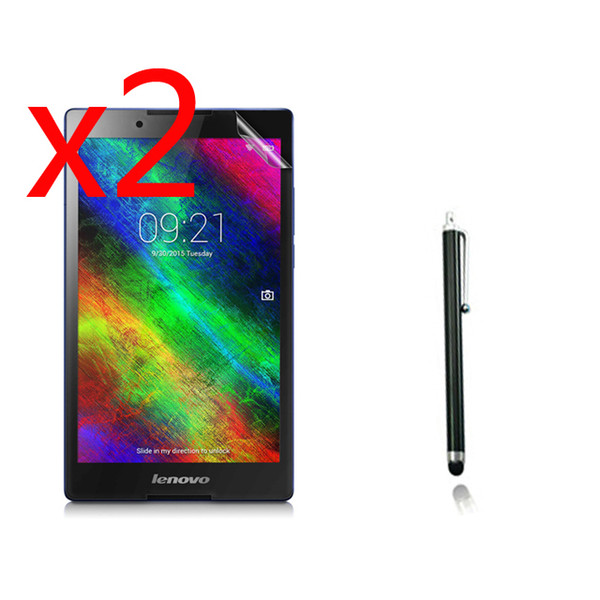 Wholesale- 2x films +2x cloth +1x Stylus , Anti-Glare Matted Screen Protector Matte Film Guards For Lenovo Tab 2 Tab2 A8-50F A8-50LC Tablet