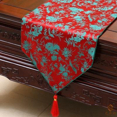 red flower bird 230 x 33cm
