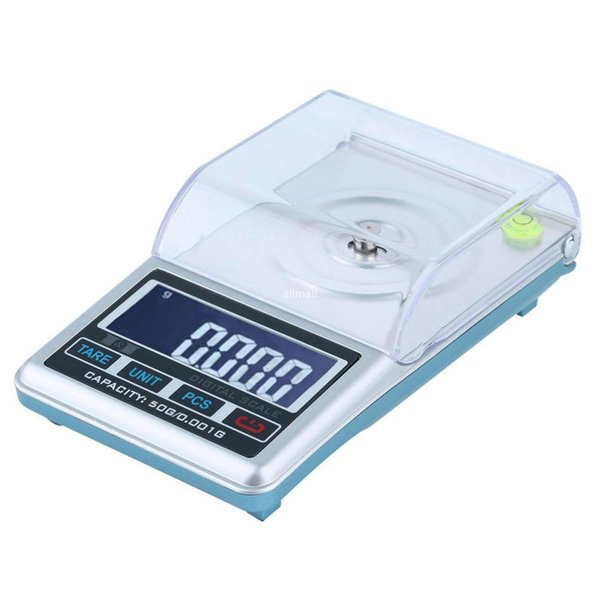 Freeshipping New LCD Digital Scale 0.001g 50g Pocket Jewelry, Diamond Digital Weight Scale High Precision Measure