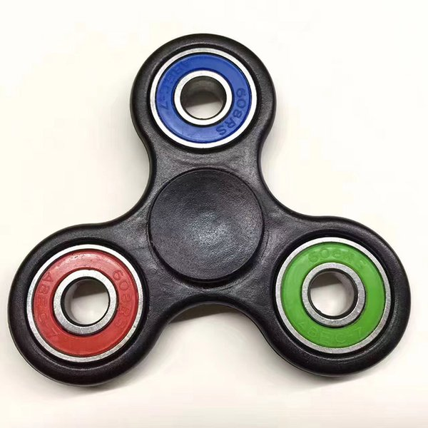 Newest HandSpinner Fingertips Spiral Fingers Fidget Spinner EDC Hand Spinner Acrylic Plastic Fidgets Toys Gyro Toys Decompression tools