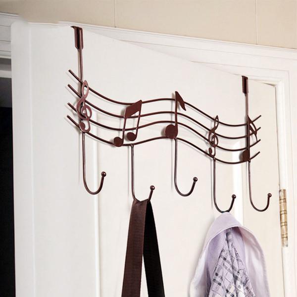 Over The Door Hook Hanger Heavy Duty Storage For Coat Towel Bag Robe  Bathroom Seamless