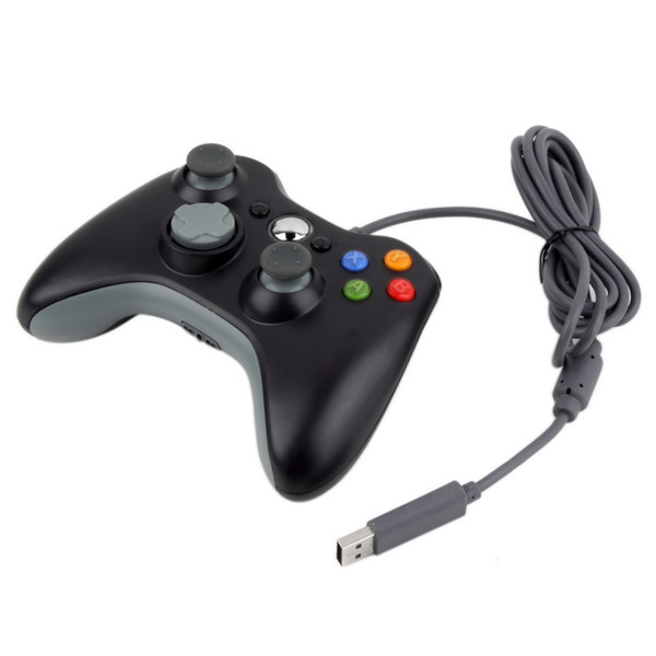 1pc USB Wired Joypad Gamepad Controller For Microsoft or Xbox Slim 360 and PC for Windows7 Joystick Gamepad Controller