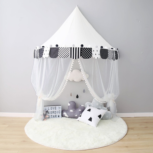 Kids Teepee Tents Children Play Room Cotton Portable Crib Tent Baby Room Decorations Birthday Gifts Boys & Kids Teepee Tents Children Play Room Cotton Portable Crib Tent ...