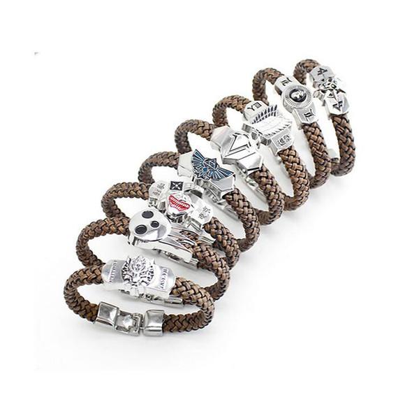 Free shipping Hot cartoon bracelet characters bracelet bracelet FB380 mix order 20 pieces a lot Slap & Snap Bracelets