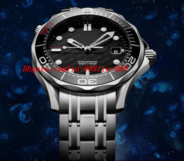 Luxury Wristwatch Professional 212.30.41.20.01.005 Limited Edition James Bond 007 Mechanical Men Watches Top Quality