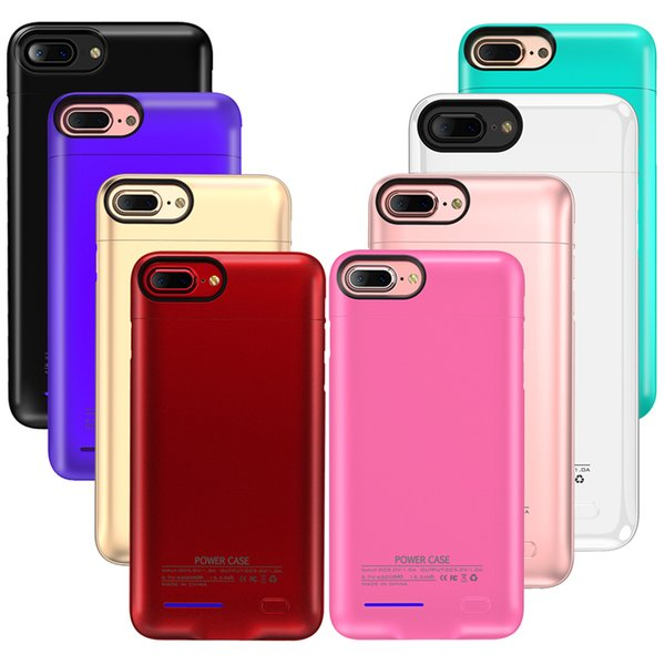 top popular Original Battery Case For Iphone Xs Max 8 Plus 4.7 5.5 Universal Clip Charger magnet Phone Holder Wireless Power Bank Cover 2019