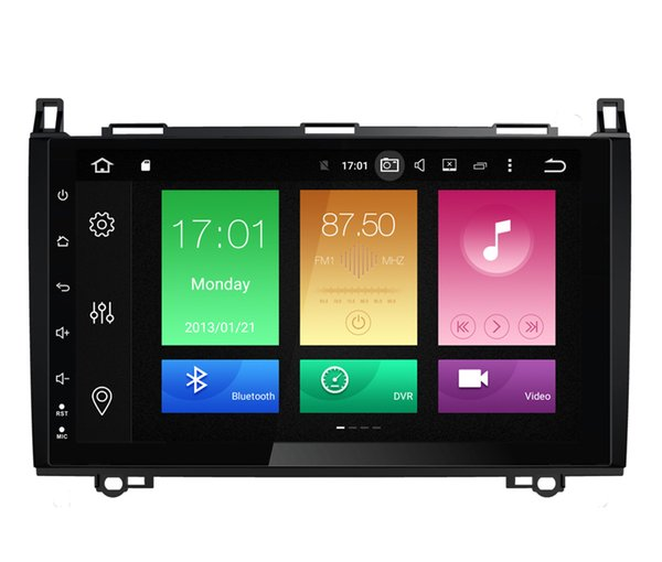 """9"""" Octa-Core Android 6.0 Auto Car DVD For Mercedes-Benz B200 Vito Viano W245 W906 A160 W639 Crafter B150 GPS Navi WIFI 4G BT 2G RAM 32G ROM"""