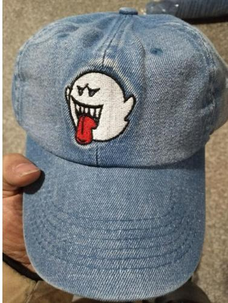 Hot denim Distressed Boo Mario Ghost snapback caps American Rapper Singer Bryson Tiller Hat Trapsoul Album Women Men Hip Hop Style Dad Hat