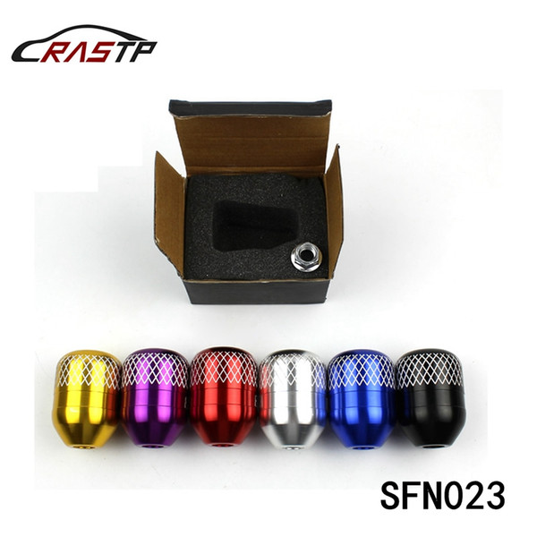 best selling RASTP - New Style Engraved Mark M10x1.5 Thread Billet Gear Shift Knob For Honda Acura RS-SFN023
