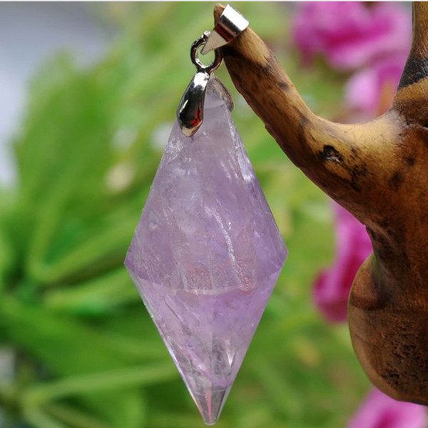 natural amethyst amatista pendant