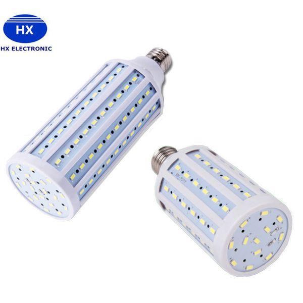 20 W 30 W 40 W 60 W 80 W 100 W SMD Led Ampuller Işık Mısır Lamba E27 E26 B22 Led Işıkları Sıcak Soğuk Beyaz 3 Yıl Garanti