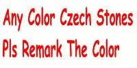 Any Color Czech Stone